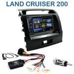 Autoradio 2-DIN Clarion Toyota Land Cruiser 200 depuis 2008 - 2 modèles au choix