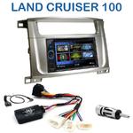 Autoradio 2-DIN Clarion Toyota Land Cruiser 100 depuis 2007 - 2 modèles au choix