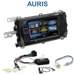 Autoradio 2-DIN Clarion Toyota Auris depuis 2013 - 2 modèles au choix