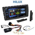 Autoradio 2-DIN Clarion Toyota Hilux depuis 2012 - VX404E