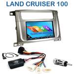 Autoradio 2-DIN GPS NX302E, NX405E, NX505E ou NX706E Toyota Land Cruiser 100 depuis 2007