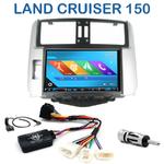 Autoradio 2-DIN GPS NX302E, NX405E, NX505E ou NX706E Toyota Land Cruiser LC 150 de 2009 à 2013