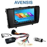 Autoradio 2-DIN GPS NX302E, NX405E, NX505E ou NX706E Toyota Avensis depuis 2009