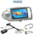 Autoradio 2-DIN GPS NX302E, NX405E, NX505E ou NX706E Toyota Yaris de 2011 à 2013