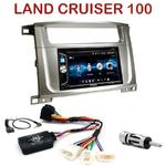Autoradio 2-DIN Alpine Toyota Land Cruiser 100 depuis 2007 - CDE-W296BT, IVE-W560BT OU IVE-W585BT AU CHOIX