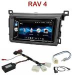 Autoradio 2-DIN Alpine Toyota RAV4 depuis 2013 - CDE-W296BT, IVE-W560BT OU IVE-W585BT AU CHOIX