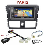 Pack autoradio GPS Toyota Yaris depuis 2013 - INE-W990HDMI, INE-W710D, INE-W987D ou ILX-702D au choix