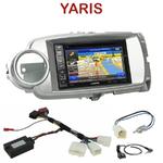 Pack autoradio GPS Toyota Yaris de 2011 à 2013 - INE-W990HDMI, INE-W710D, INE-W987D ou ILX-702D au choix