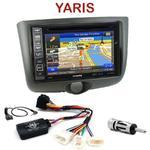 Pack autoradio GPS Toyota Yaris de 1999 à 2003 - INE-W990HDMI, INE-W710D, INE-W987D ou ILX-702D au choix