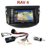Pack autoradio GPS Toyota RAV4 de 2006 à 2013 - INE-W990HDMI, INE-W710D, INE-W987D ou ILX-702D au choix