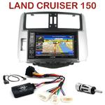 Pack autoradio GPS Toyota Land Cruiser 150 depuis 2009 - INE-W990HDMI, INE-W710D, INE-W987D ou ILX-702D au choix