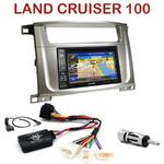 Pack autoradio GPS Toyota Land Cruiser 100 depuis 2007 - INE-W990HDMI, INE-W710D, INE-W987D ou ILX-702D au choix