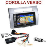 Pack autoradio GPS Toyota Corolla Verso de 2004 à 2009 - INE-W990HDMI, INE-W710D, INE-W987D ou ILX-702D au choix