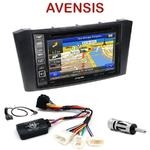 Pack autoradio GPS Toyota Avensis de 02/2003 à 2009 - INE-W990HDMI, INE-W710D, INE-W987D ou ILX-702D au choix