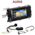 Pack autoradio GPS Toyota Auris depuis 2013 - INE-W990HDMI, INE-W710D, INE-W987D ou ILX-702D au choix