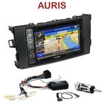 Pack autoradio GPS Toyota Auris de 2007 à 2013 - INE-W990HDMI, INE-W710D, INE-W987D ou ILX-702D au choix