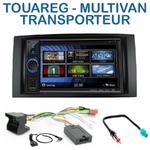 Autoradio 2-DIN Clarion Volkswagen Multivan, Caravelle, Transporter & Touareg - VX404E