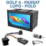 Autoradio 2-DIN GPS NX302E, NX405E, NX505E ou NX706E Volkswagen Golf 4, Lupo, Polo et Passat