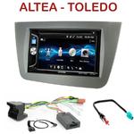 Autoradio 2-DIN Alpine Seat Altea, Altea XL & Toledo - CDE-W296BT, IVE-W560BT OU IVE-W585BT AU CHOIX