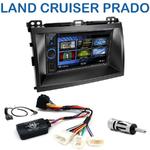 Autoradio 2-DIN Clarion Toyota Land Cruiser J120 et Prado depuis 2007 - 2 modèles au choix