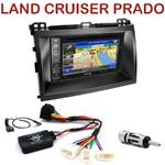 Pack autoradio GPS Toyota Land Cruiser J120 et Prado depuis 2007 - INE-W990HDMI, INE-W710D, INE-W987D ou ILX-702D au choix