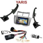 Pack autoradio GPS Toyota Yaris de 2007 à 2010 - INE-W990HDMI, INE-W710D, INE-W987D ou ILX-702D au choix