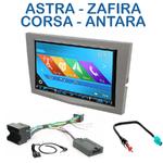 Autoradio 2-DIN GPS NX302E, NX405E, NX505E ou NX706E Opel Antara, Astra, Corsa, Meriva, Vectra, Vivaro & Zafira