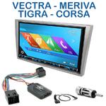 Autoradio 2-DIN GPS NX302E, NX405E, NX505E ou NX706E Opel Agila Combo Corsa Vivaro & Omega