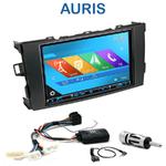 Autoradio 2-DIN GPS NX302E, NX405E, NX505E ou NX706E Toyota Auris depuis 2007