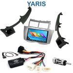 Autoradio 2-DIN GPS NX302E, NX405E, NX505E ou NX706E Toyota Yaris 2007 à 2011