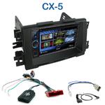 Autoradio 2-DIN Clarion Mazda CX-5 depuis 2012 - VX404E