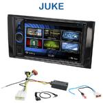 Autoradio 2-DIN Clarion Nissan Juke depuis 05/2014 - VX404E