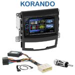 Autoradio 2-DIN Clarion Ssangyong Korando de 2010 à 2013 - VX404E