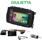 Pack autoradio Android GPS Alfa Romeo Giulietta depuis 2013 - WIFI Bluetooth écran tactile HD