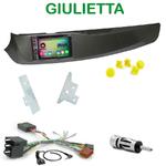 Pack autoradio Android GPS Alfa Romeo Giulietta de 2010 à 2013 - WIFI Bluetooth écran tactile HD