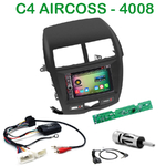 Pack autoradio Android GPS Mitsubishi ASX depuis 2010, Citroën C4 Aircross & Peugeot 4008 - WIFI Bluetooth écran tactile HD