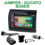 Pack autoradio Android GPS Citroën Jumper, Fiat Ducato & Peugeot Boxer de 2011 à 2013 - WIFI Bluetooth écran tactile HD