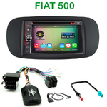Pack autoradio Android GPS Fiat 500 - WIFI Bluetooth écran tactile HD