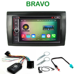 Pack autoradio Android GPS Fiat Bravo - WIFI Bluetooth écran tactile HD