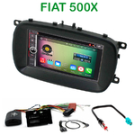 Pack autoradio Android GPS Fiat 500X - WIFI Bluetooth écran tactile HD