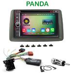 Pack autoradio Android GPS Fiat Panda de 2003 à 2011 - WIFI Bluetooth écran tactile HD
