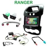 Pack autoradio Android GPS Ford Ranger de 2012 à 2016 - WIFI Bluetooth écran tactile HD
