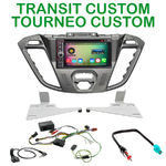 Pack autoradio Android GPS Ford Tourneo Custom & Transit Custom depuis 11/2012 - WIFI Bluetooth écran tactile HD