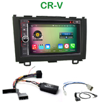 Pack autoradio Android GPS Honda CR-V de 2006 à 2012 - WIFI Bluetooth écran tactile HD