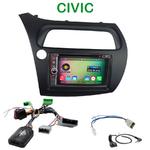 Pack autoradio Android GPS Honda Civic 5 portes de 2006 à 2012 - WIFI Bluetooth écran tactile HD