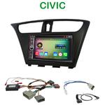 Pack autoradio Android GPS Honda Civic depuis 2012 - WIFI Bluetooth écran tactile HD