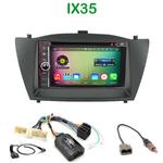 Pack autoradio Android GPS Hyundai ix35 de 2010 à 2013 - WIFI Bluetooth écran tactile HD