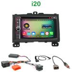 Pack autoradio Android GPS Hyundai i20 de 2008 à 2014 - WIFI Bluetooth écran tactile HD