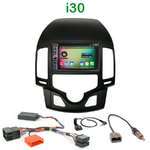 Pack autoradio Android GPS Hyundai i30 (clim. automatique) de 07/2007 à 02/2012 - WIFI Bluetooth écran tactile HD