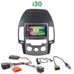 Pack autoradio Android GPS Hyundai i30 (clim. manuelle) de 07/2007 à 02/2012 - WIFI Bluetooth écran tactile HD